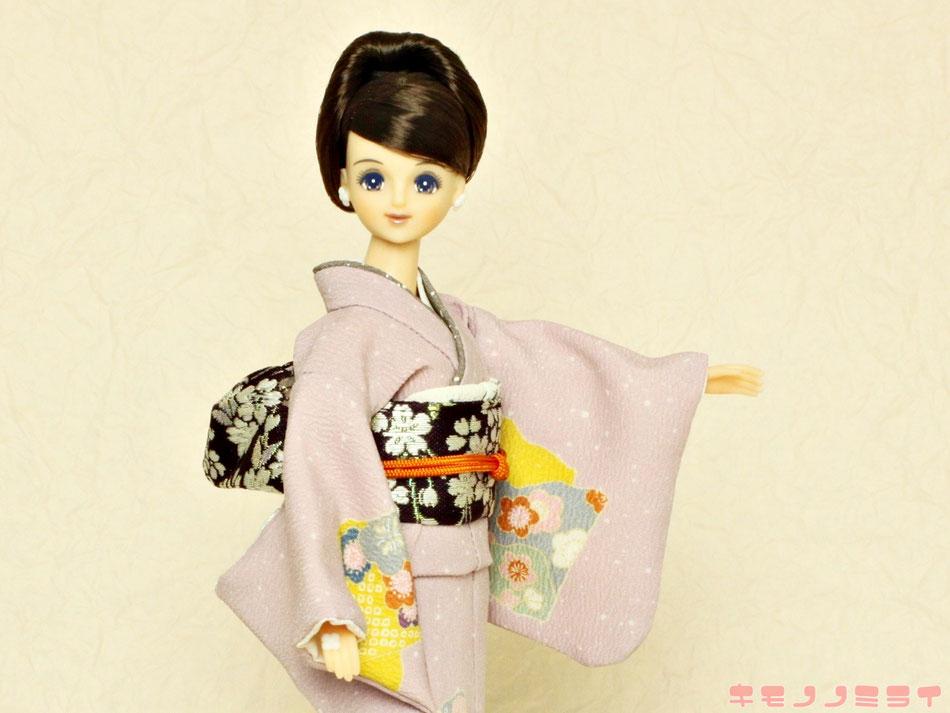 ジェニー 着物,momoko kimono,ユノラ 和服