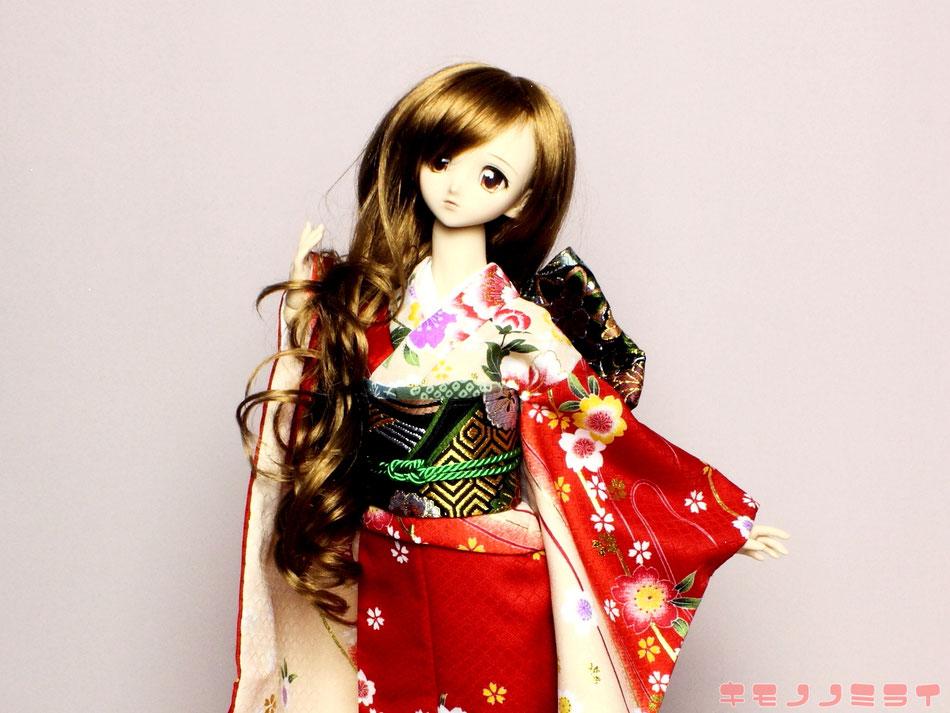 SD kimono,DD 振袖 着物,ドルフィー 和装
