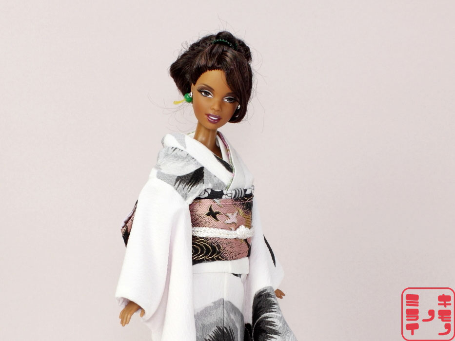 バービー振袖・Barbie kimono