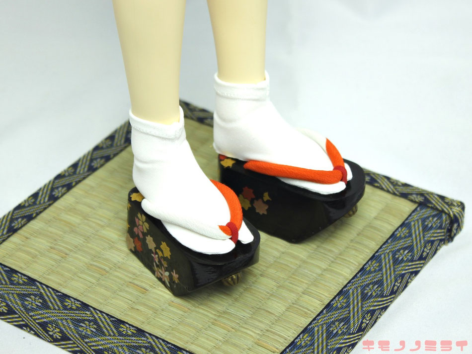 SD ぽっくり,Dollfie kimono shoes,ドルフィー 履物