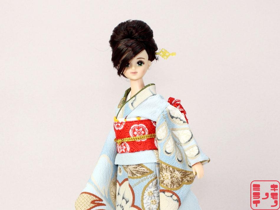 ジェニー 振袖、momoko 振袖、プーリップ 振袖、Pullip kimono,Momoko kimono