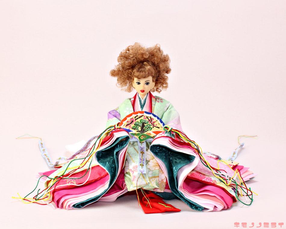 momoko hina doll,ジェニー 十二単,Jenny お雛様