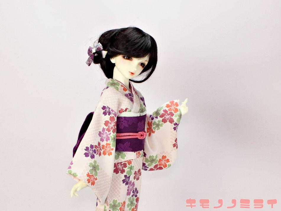 Super Dollfie kimono,SD 着物,ドルフィー 和装