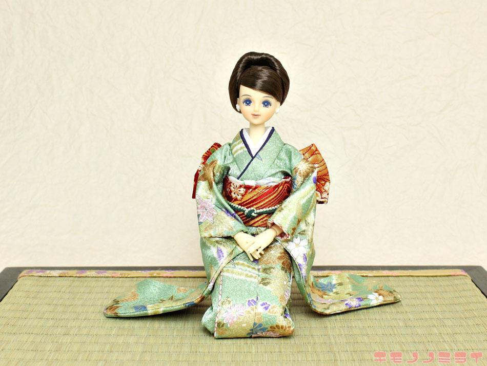 ドール 着物,doll kimono,キャッスル ジェニー