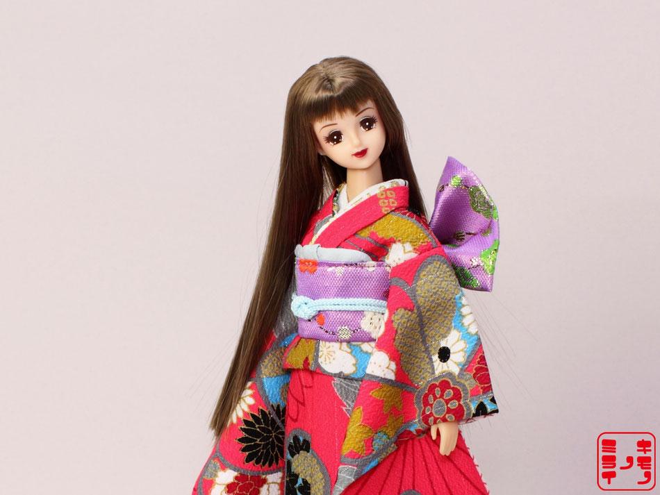 ジェニー振袖、momoko振袖、プーリップ振袖、Pullip kimono,Momoko kimono