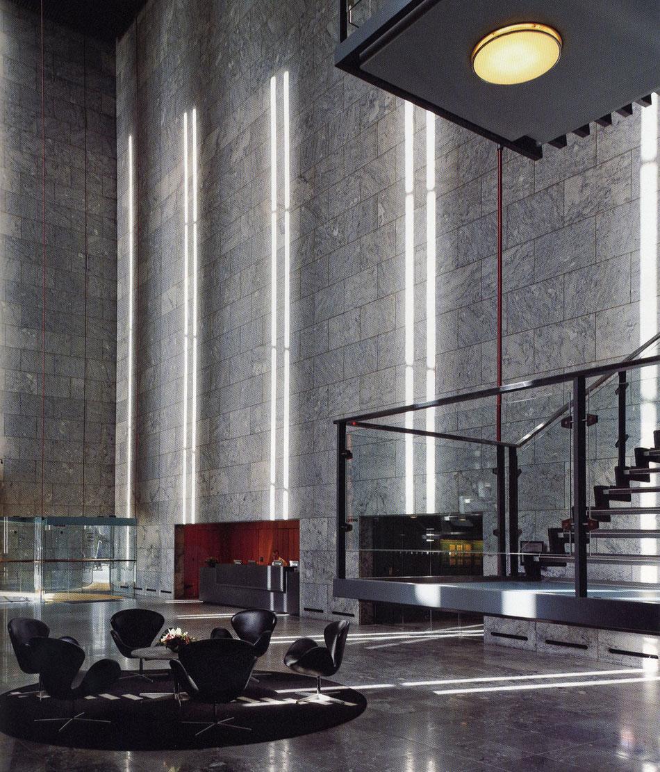 arne jacobsen ymg architect. Black Bedroom Furniture Sets. Home Design Ideas