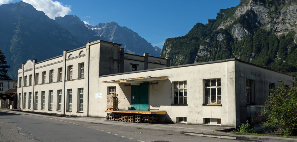 Obere Papierfabrik heute.  Foto: Kurt Meyer