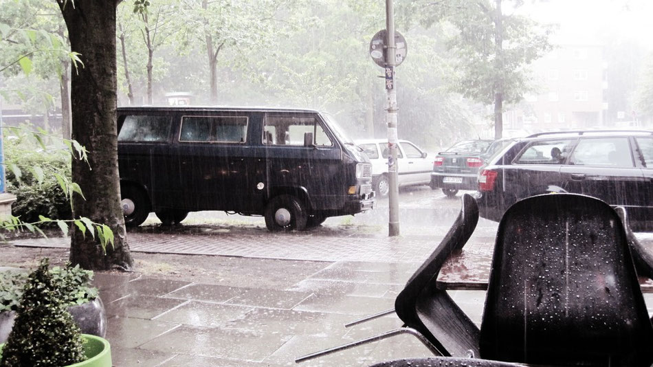 Montag: Hamburger Regenwetter