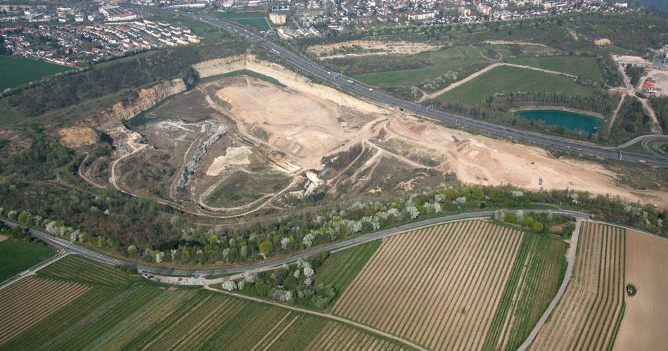 Steinbruch in Mainz-Laubenheim - Quelle: ÖDP Webseite