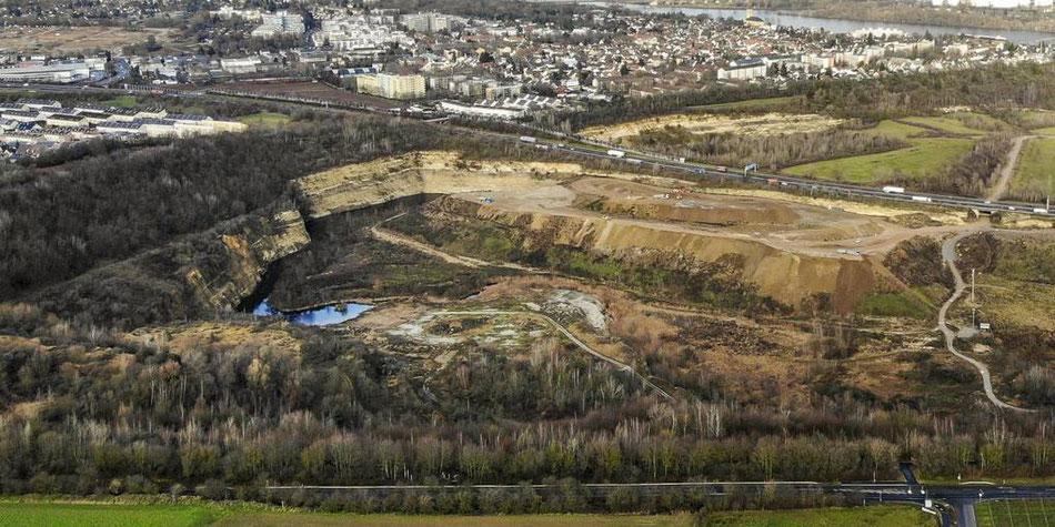 Der Entsorgungsbetrieb möchte im Mainzer Steinbruch eine Mülldeponie einrichten, eine Bürgerinitiative möchte dies verhindern. (Archivfoto: Lukas Görlach)
