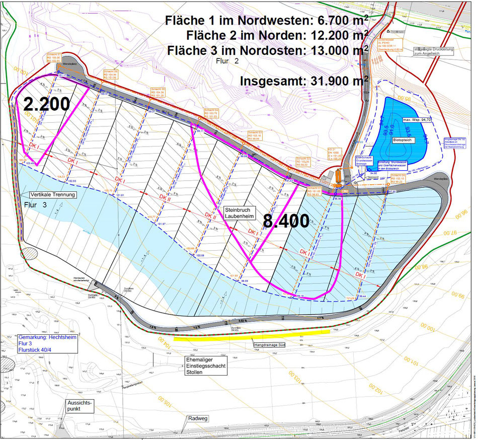 Quelle: Plan: 06-1_Lageplan Grundwasserdrainage 1-1000_A1