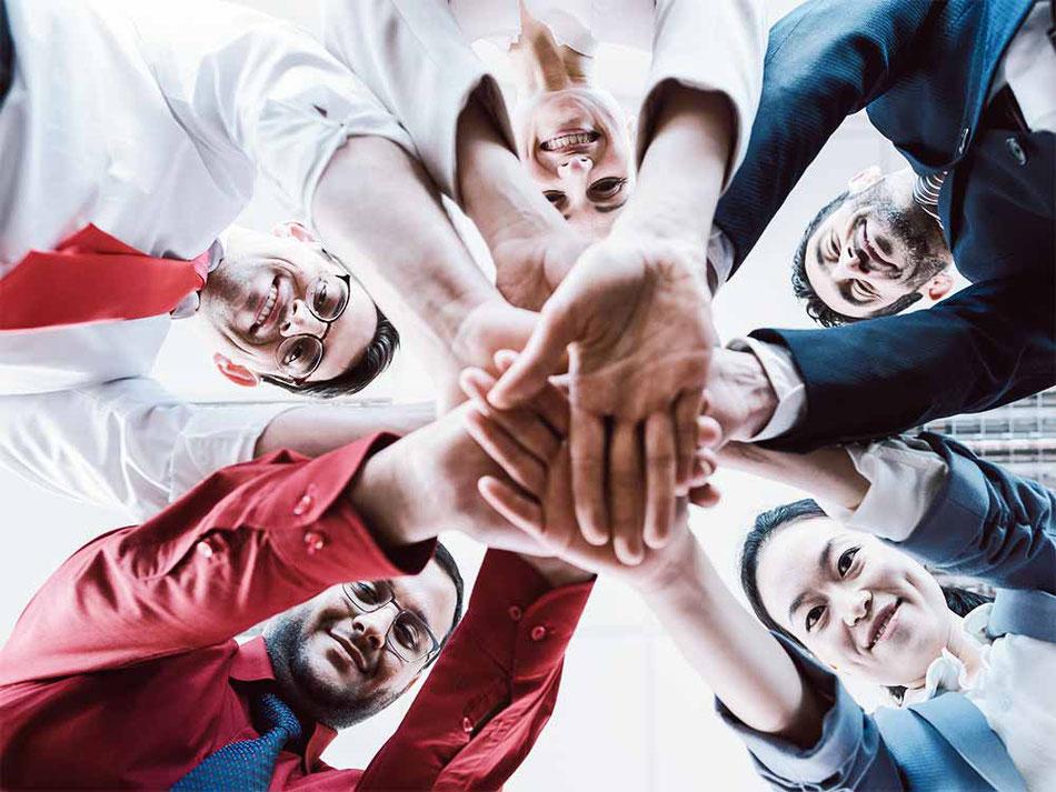 Werte im Unternehmen und im Team entstehen durch gemeinsames Commitment