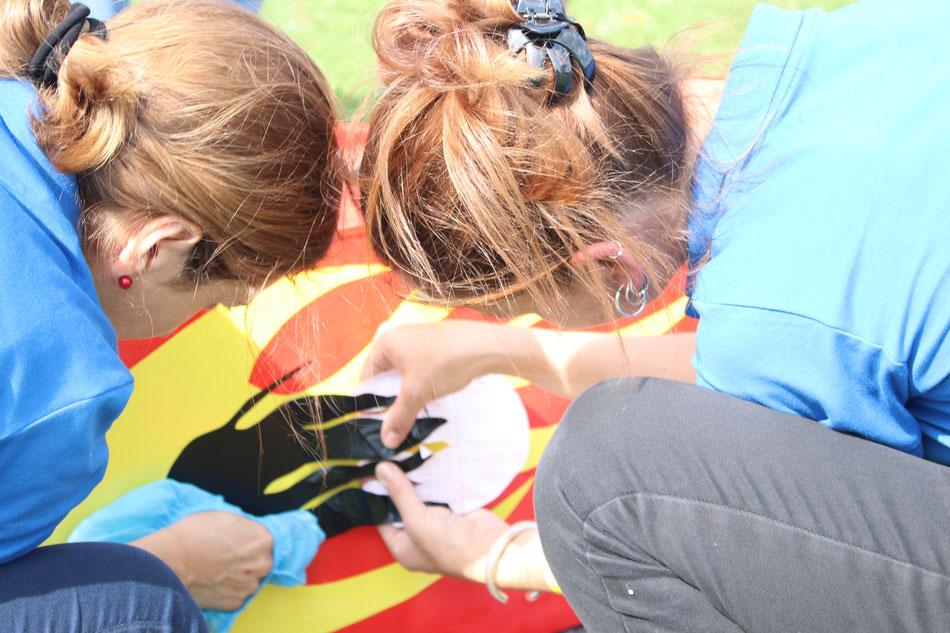 Designen der Seifenkiste vor dem Seifenkistenrennen - bo events