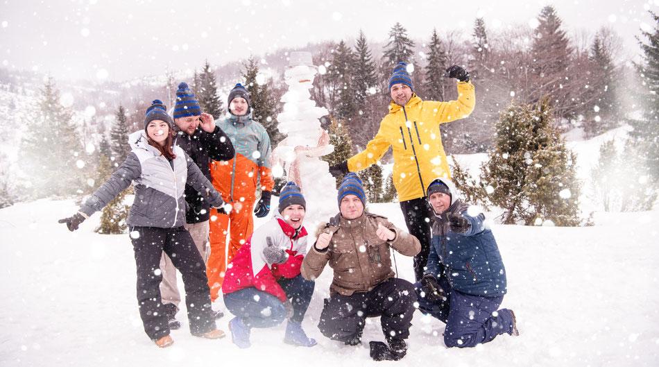 Winter Challenge - Teambuilding - Weihnachtsfeier - Rahmenprogramm - bo events
