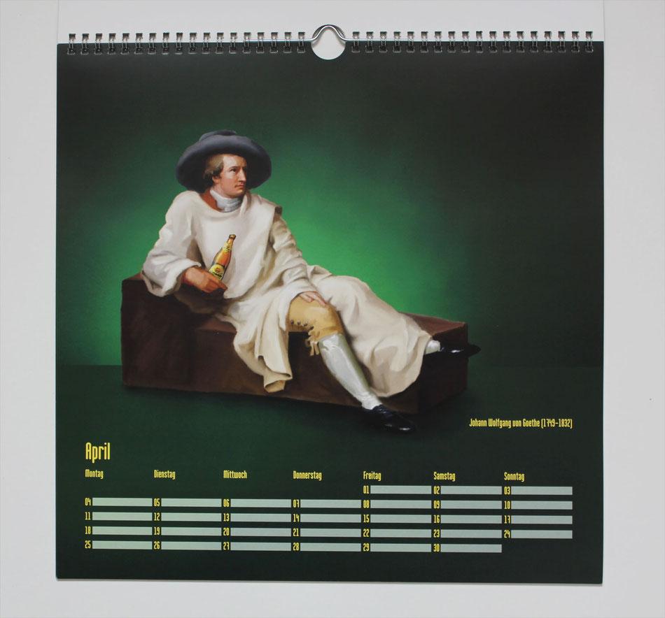"Kalender ""400 Jahre Wittmann"" (Kunde: Wittmann)"