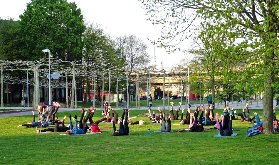 Sport im Park Düsseldorf