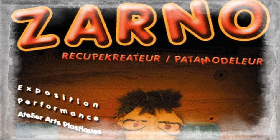 Fanzinothèque de Poitiers affiche exposition Zarno