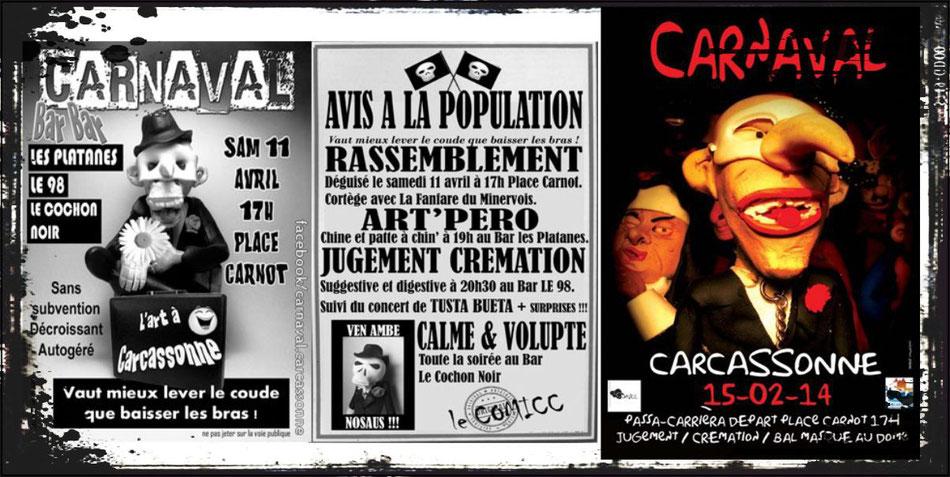 Carnaval de Carcassonne - Edition 2014