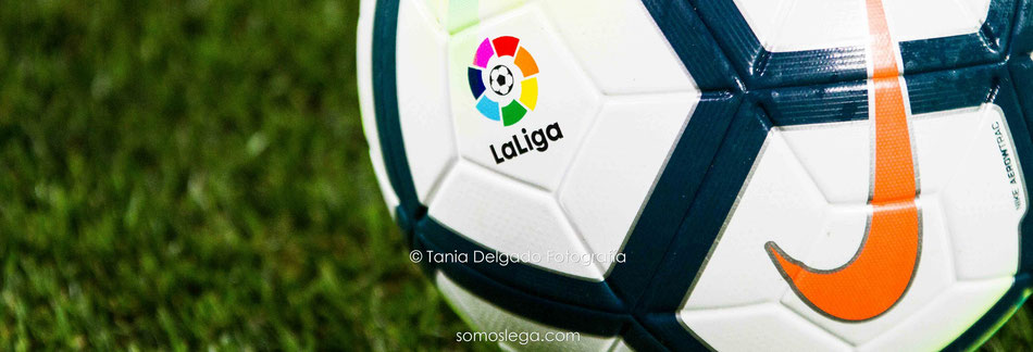 la liga, liga santander, futbol, pelota, balón, fotografia deportiva