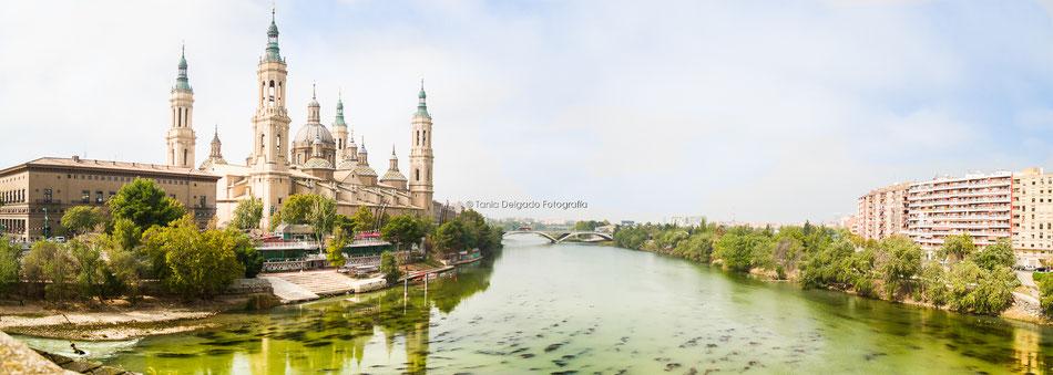 Zaragoza, arquitectur, basilica del pilar, el pilar, ria ebro, aragón, fiestas del pilar, paisaje
