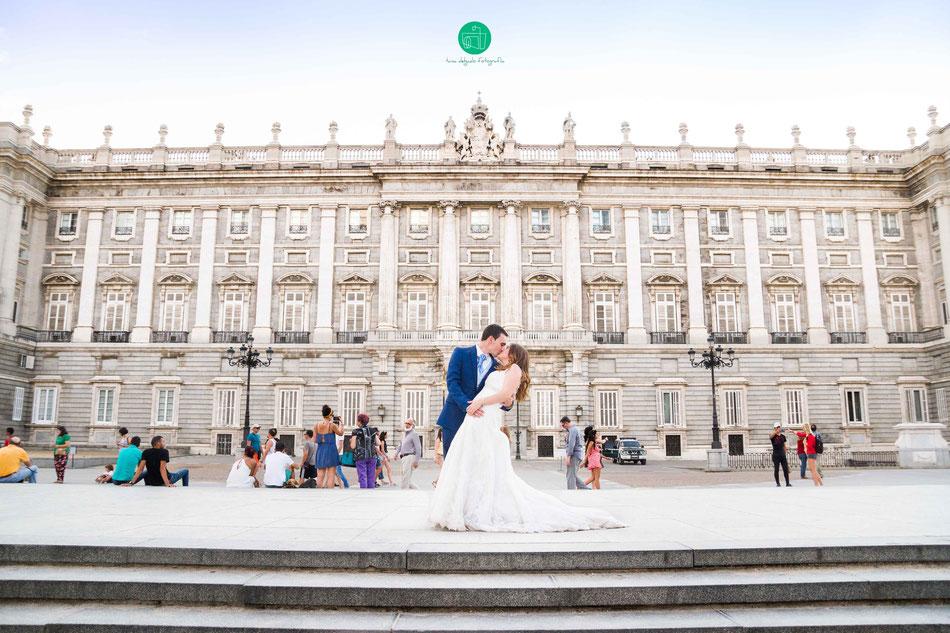 postboda, madrid, palacio real, palacio de oriente, sesion, fotografia, boda, pareja,