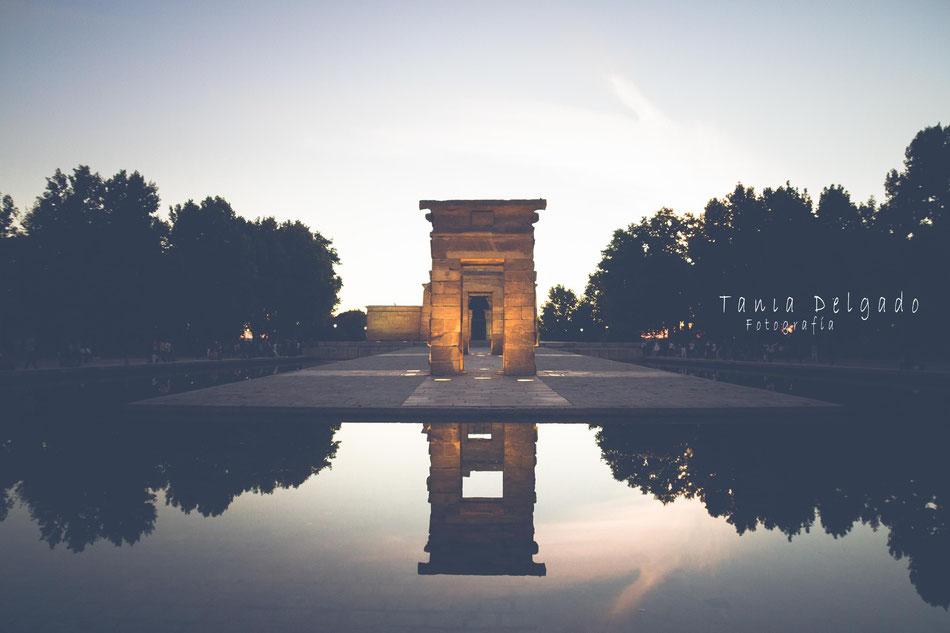 templo de debod, madrid, arquitectura, viajes, templo egipcio