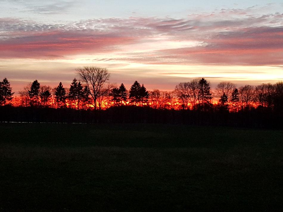Sonnenuntergang in Belau, Foto: Ulf F. Baumann