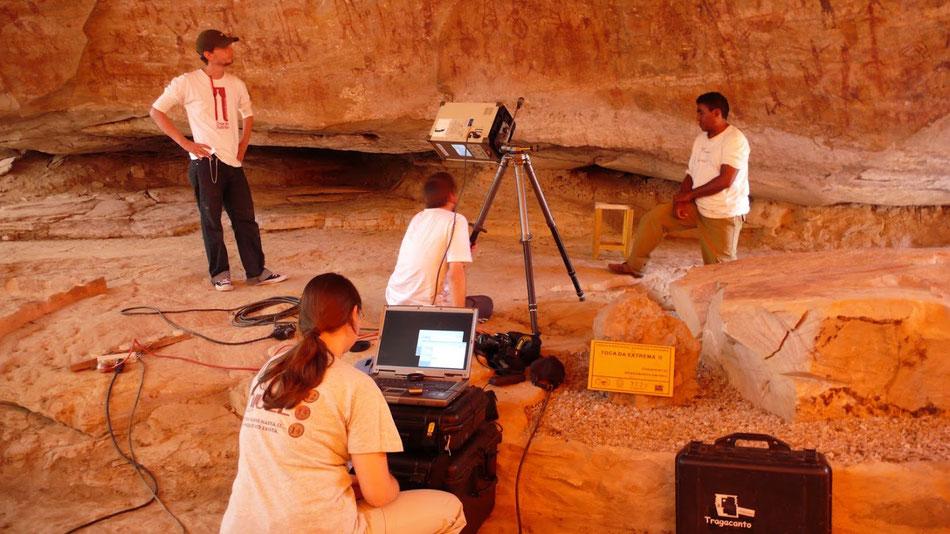 Scan 3D Petroglifos Sierra de Capivara, Pedra Furada, Braisl