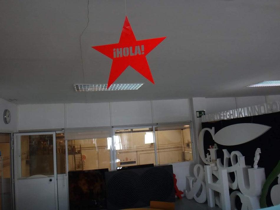 Estrella ¡Hola! para evento