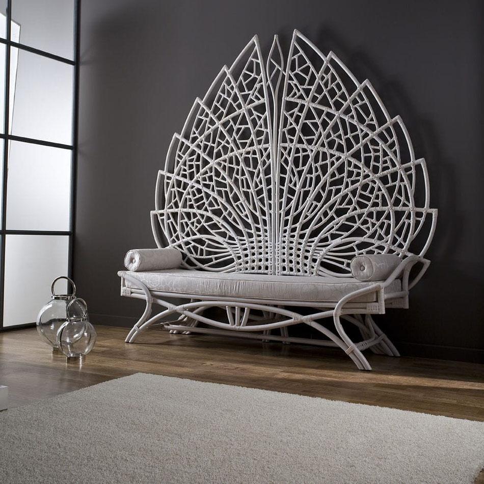 Danaé Balland décoration blog rotin fauteuil Ethuil Dolcefarniente