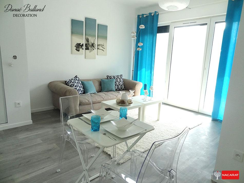 Décoration appartement témoin VEFA promoteur immobilier
