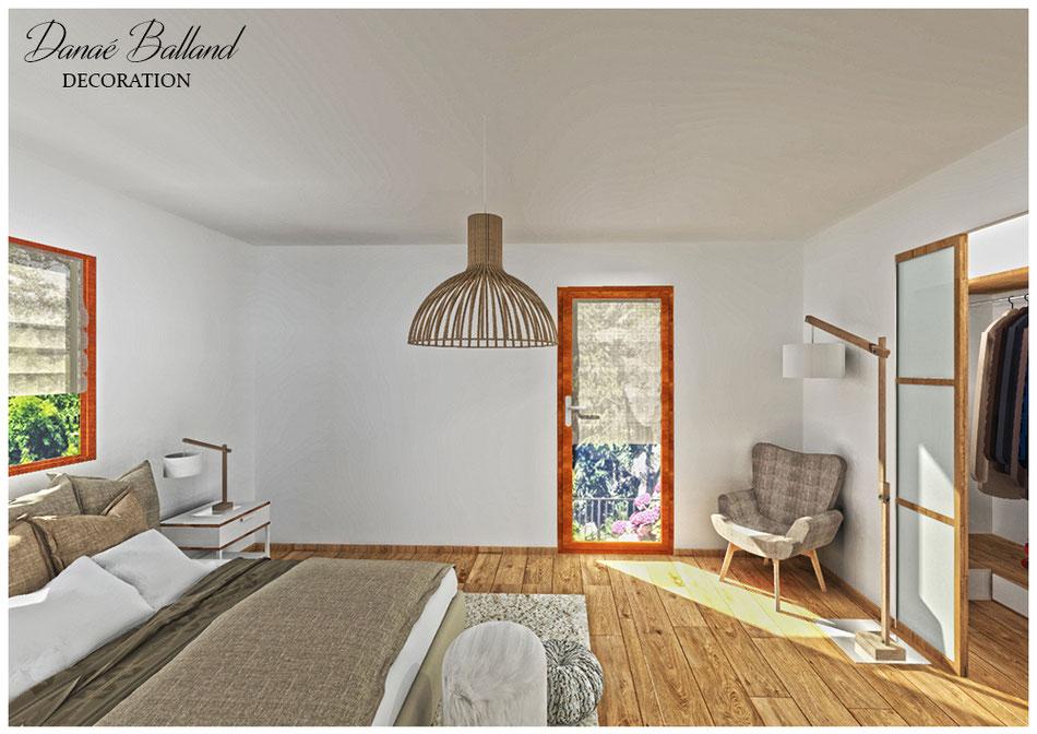 suite parentale de r ve dana balland d coration. Black Bedroom Furniture Sets. Home Design Ideas