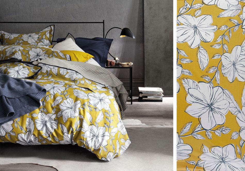 Ligne de lit fleurs Nina Ricci