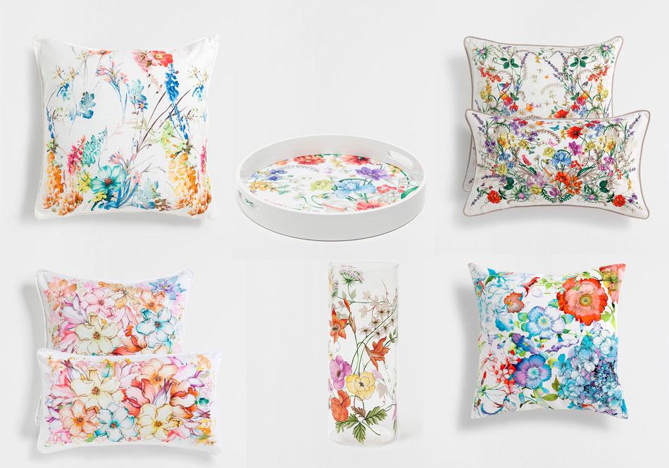 Décoration accessoires fleurs Zara home