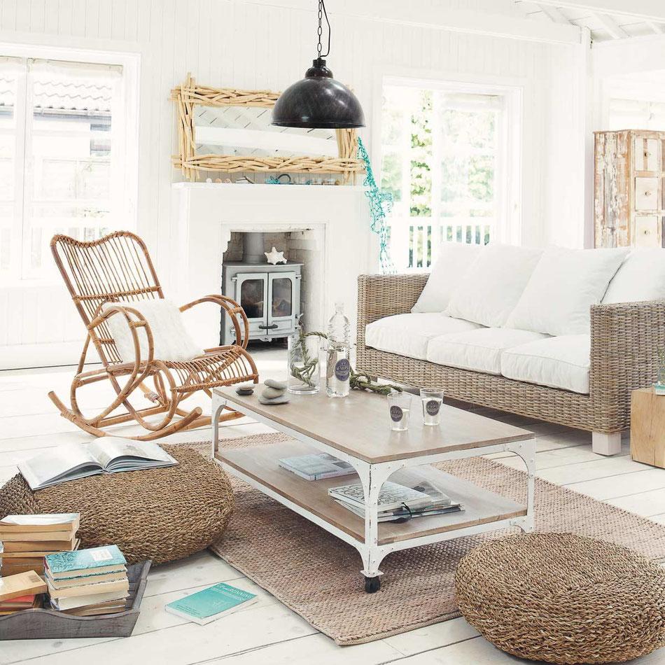 Danaé Balland décoration blog rotin Maisons du monde