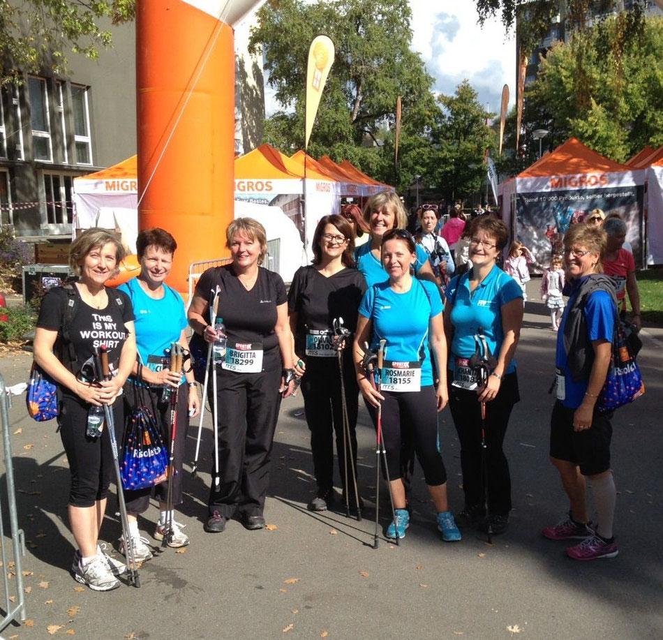 Unsere Delegation am Greifenseelauf 2015