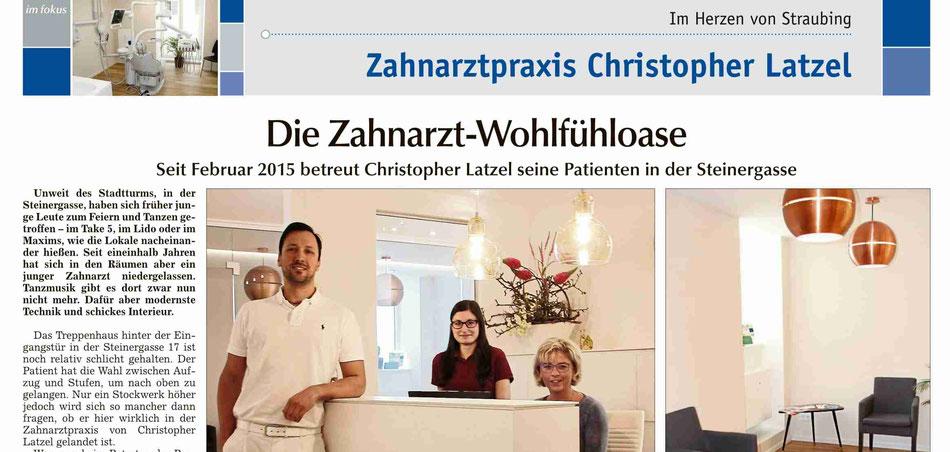 Zahnarzt, Straubing, Latzel, Wohlfühloase