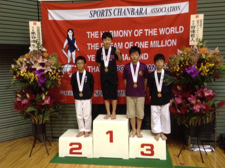 スポーツチャンバラ世界大会優勝