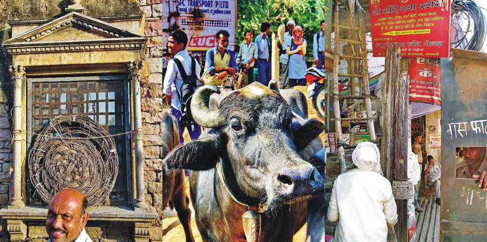 Gwalior und Varanasi_ Strassenszenen