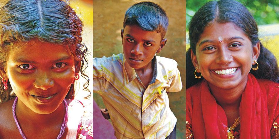 Porträt | Madurai Tamil Nadu_ Cesci >CEDAR Bildungstag