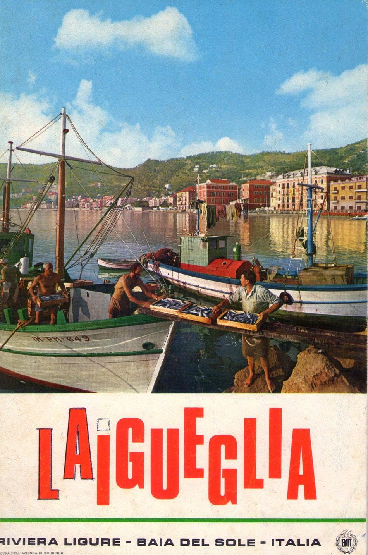 Copertina del libretto ufficiale della 13° edizione del Trofeo Laigueglia: 22 febbraio 1976