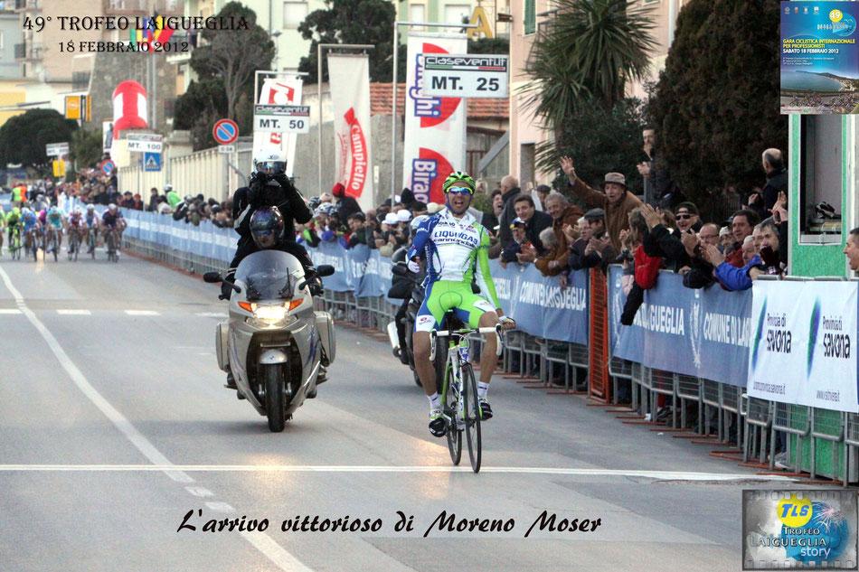 Moreno Moser, trofeo laigueglia