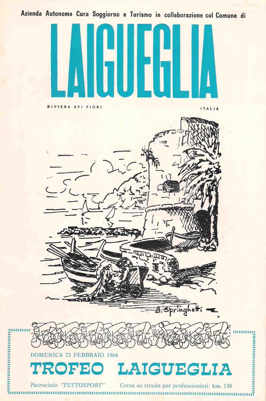 """La copertina """"introvabile"""" del primo libretto del Trofeo."""