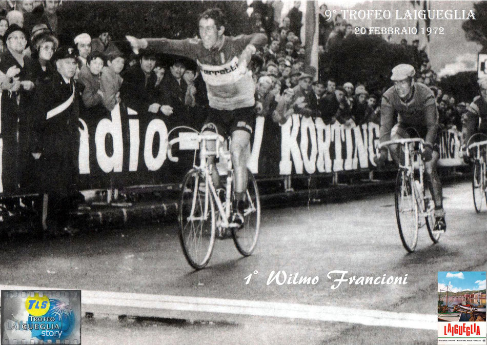 Francioni, Merckx, De Vlaeminck, Trofeo Laigueglia