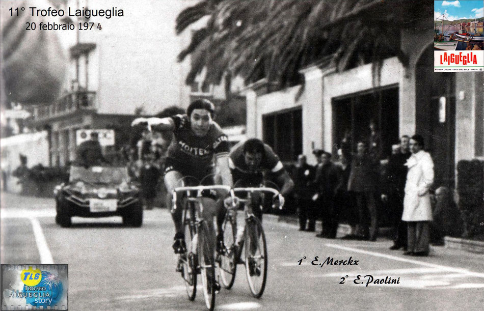 Trofeo Laigueglia, Merckx, Paolini