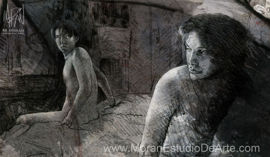 Gael García Bernal, Diego Luna en Y tú mamá también de Alfonso Cuarón, 2001