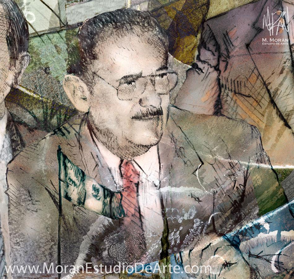 Heriberto Pfeiffer Cruz Secretario de Gobierno durante el periodo del Gobernador Jesús Murillo Karam