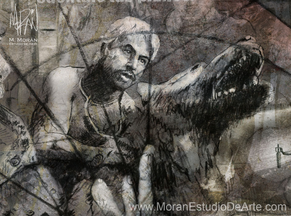 """Gustavo Sánchez Parra en """"Amores perros"""" de Alejandro González Iñarritu, 2000"""