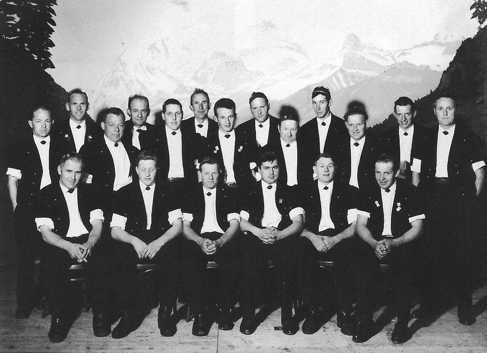 Jodlerklub Blüemlisalp Scharnachtal 1967