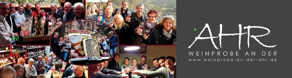 Mit einem Klick auf das Foto werden Sie sehr umfangreiche Weinprobenangebote an der Ahr finden. Herzlich willkommen...